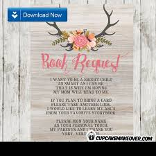 19 best deer birthday baby shower invitations images on