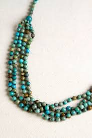 turquoise colored necklace images Navajo multi strand green and blue quot turquoise pearls quot necklace jpg