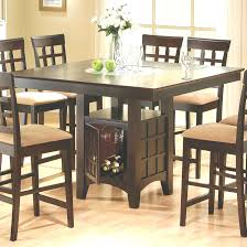 tall dining table and chairs high dining table set inspirational tall dining room table sets 5255