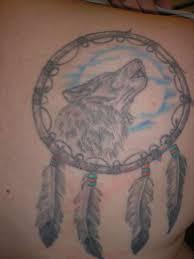 grey ink wolf catcher design tattoos book 65 000