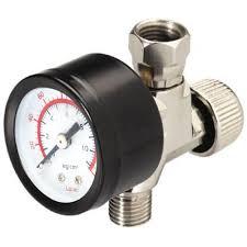husky 1 4 in npt air adjustment valve with gauge 41115hom the