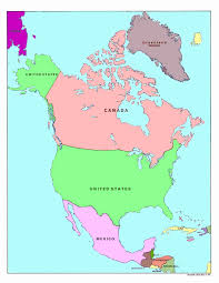 America Map With States by United States Map Nations Online Project Map South North America