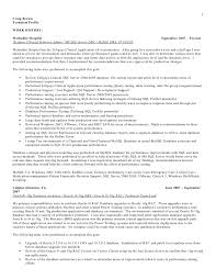 sql database administrator resumes template oracle dba resume