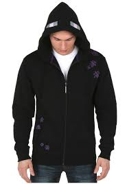 jinx minecraft men u0027s enderman zip up hoodie computers plus