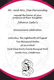 quinceanera invitation wording how should i word my quinceanera invitations marital status