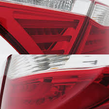 2015 toyota camry tail light 16 toyota camry led tube tail lights red clear