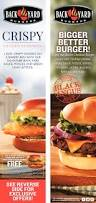 backyard burgers crispy chicken sandwich restaurants ads from