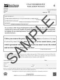 Rent Increase Letter Ma oregon rental housing association choose your form
