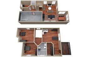 house floor plan 3d model cgtrader