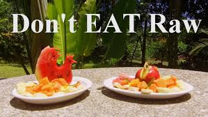3 reasons not to go on a 100 raw food diet around the world