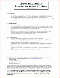 executive administrative assistant resume executive assistant resume exles best of sle resume
