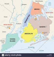 Map Of Jersey City Map Of Manhattan Island Stockfotos U0026 Map Of Manhattan Island