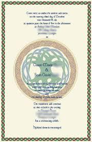 celtic wedding invitations the wedding specialiststhe wedding