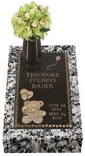 granite grave markers 18 best infant bronze grave markers images on grave