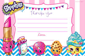 Birthday Invitation Card Template Free Download Updated U2013 Free Printable Shopkins Birthday Invitation Template