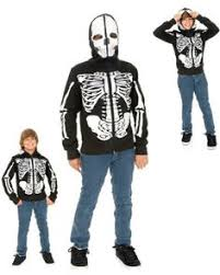 Halloween Skeleton Costume Halloween Zipperhead Skeleton Hoodie Costume Skeleton