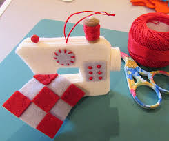 a sweet ornament for anyone who sews quilting digest