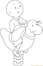 caillou coloring pages games printable images