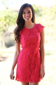 red lace dress with pockets short dresses u2013 saved by the dress