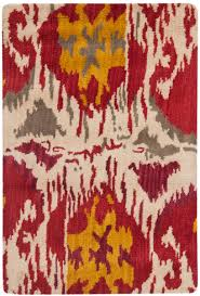 Oval Outdoor Rugs Flooring Cool And Chic Ikat Rug Design For Your Living Space