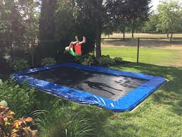 backyard trampoline safety home outdoor decoration