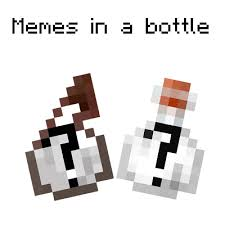 Minecraft Meme Mod - overview meme in a bottle mods projects minecraft curseforge