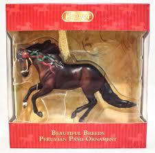 breyer beautiful breeds christmas ornament peruvian paso u2013 triple