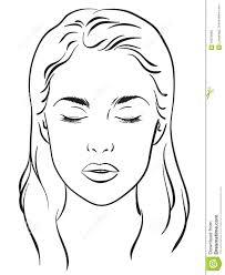 face sketch for makeup makeupink co
