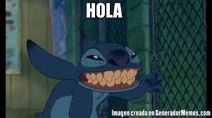 Hola Meme - hola meme de stitch saludo imagenes memes generadormemes
