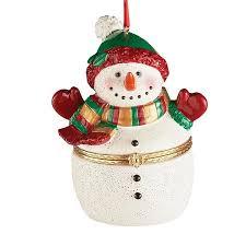 trinket box tree ornaments snowman walmart
