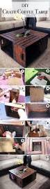 crate coffee tables the 25 best wood crate table ideas on pinterest crate table