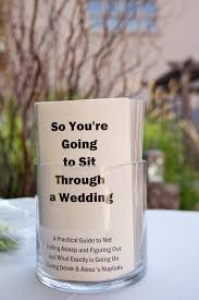 What To Put On Wedding Programs Pamphlets Making Fun Of Your Own Wedding Wedding Pinterest