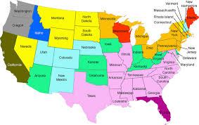 united states map with state names and major cities us map showing state lines outline map united states detailed