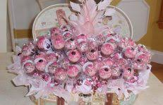 baby shower table centerpieces baby shower gift basket ideas match the theme and color horsh