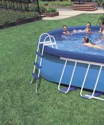 Intex 14 X 42 Intex 18ft X 10ft X 42in Oval Frame Pool Set Walmart Canada
