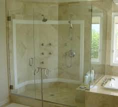 Holcam Shower Door Bathroom Holcam 3 4 Glass Shower Doors Design With Warm Wall And