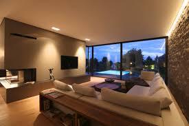 moderne wohnzimmer moderne villa mit pool wohnzimmer