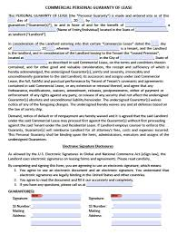 Agreement Templates Free Word S Download Personal Guarantee Agreement Forms Leases Loan Pdf