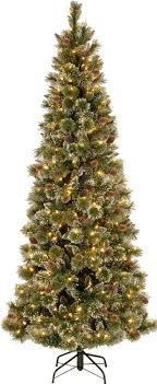 national tree co 9 glittering pine artificial tree