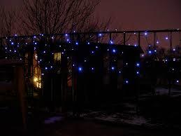 Solar Power Led Christmas Lights Solar Powered Led Icicle Lights Photo Page Everystockphoto