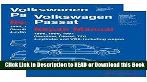 audiobook volkswagen passat b4 repair manual 1995 1996 1997