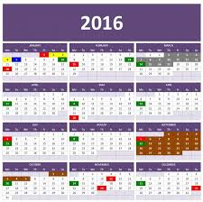 2016 calendar templates microsoft and open office yearly excel