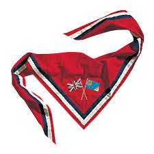 Flag Badges Embroidered International Neckerchief Neckerchiefs Girlguiding