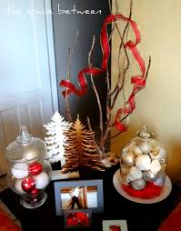 christmas side table decorations u2013 decoration image idea