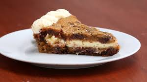 cheesecake stuffed cookie cake youtube