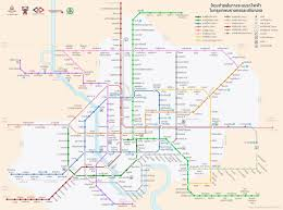Metro Manila Map by Bangkok Metro Map Update 2016 Infographic Pinterest Bangkok