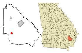 Alligators In Georgia Map Screven Georgia Wikipedia
