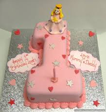 Birthday Cakes For Girls Ist Birthday Cake Meknun Com