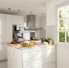 stunning compact kitchen with white drawer storage under kitchen