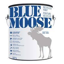arctic community welcomes blue moose recycled paint loop